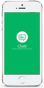 chatt ios full template with layer backend With ios splash screen template psd