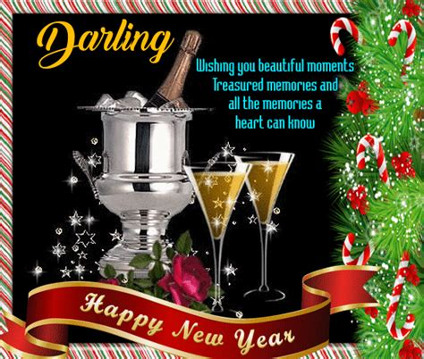 year card   darling  love ecards greeting