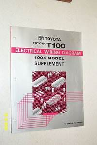 1994 Toyota T100 Supplement Electrical Wiring Diagram