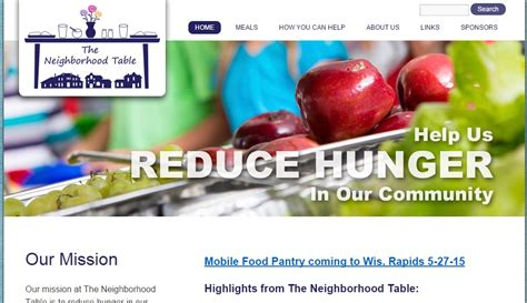 Grand Rapids Food Pantry Mobile Food Pantry Coming To Wisconsin Rapids May 27th