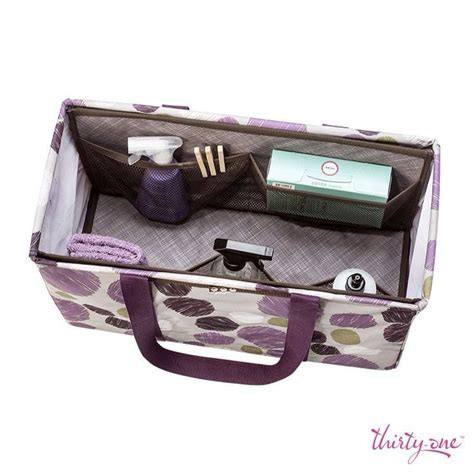 Thirty One Large Utility Tote With Insert Perfect For