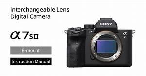 Sony A7s Iii Help Guide  U0026 Manual Now Available  U2013 Camera Ears