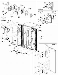 Led Electronics Usa  Ars2464b Amana Refrigerator Control