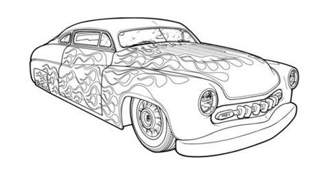 Kleurplaat Hotrod by Rod Coloring Pages Tekenen M 229 Larb 246 Cker Bilar En M 229 La