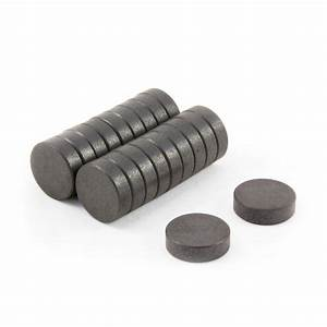 17.2mm dia x 5mm thick Y10 Ferrite Magnets | first4magnets.com