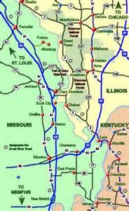 Mississippi and Ohio Rivers Maps