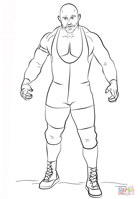 Cena Kleurplaten by Ryback Coloring Page Free Printable Coloring Pages