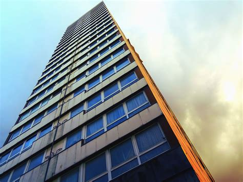 picture architecture window glass curtain apartment building sky