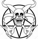 Pentagram Hell Vector Sign Drawing Clip Illustration Satanic Clipart Satan Drawings Death Signs Royalty Eye Illustrations Symbol Depositphotos Getdrawings Occult sketch template