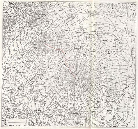 takjub indonesia peta topografi gunung sindoro  gunung