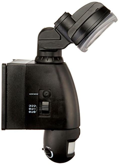 led motion sensor light with camera smart guard motion sensor led light w camera audio