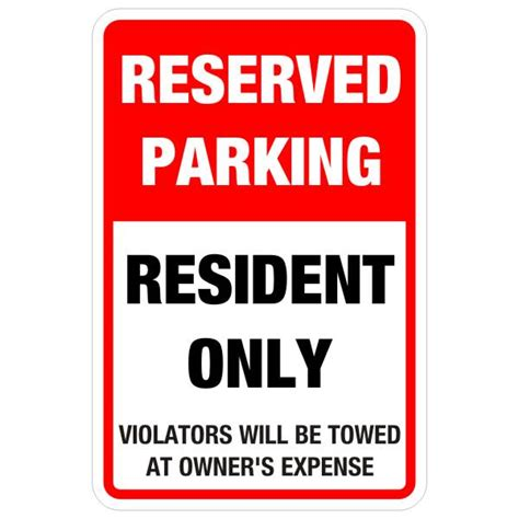 Reserved Parking Resident Only Sign 12″ X 18″  Bc Site. Wedding Invitation Template Download. Free Excel Timeline Template. Free After Effect Template. Osha Ghs Label Template. Yearbook Ad Templates Free. College Graduation Gifts For Boys. Mechanical Engineering Graduate School Rankings. Free Fillable Family Tree Template