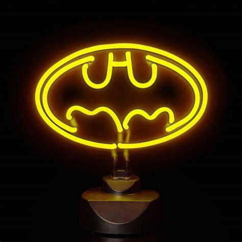 batman neon light dc comics batman 30cm wide neon light iwoot