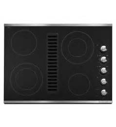standalone kitchen island 30 inch 4 element downdraft electric cooktop architect