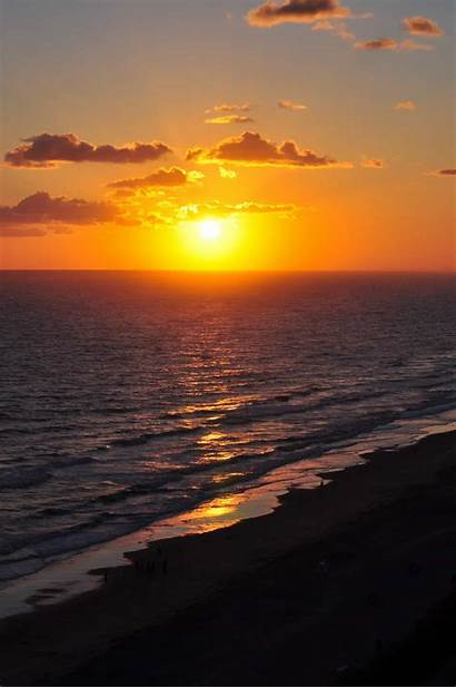 Ocean Sunrise Beach Sun Water Sunlight Dawn
