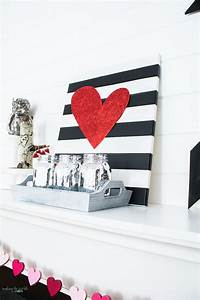 Valentine Mantel Decor Ideas For Decorating Your Home In