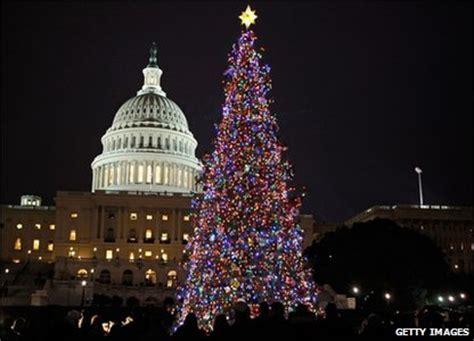 washington dc christmas lights cbbc newsround in pictures christmas lights around