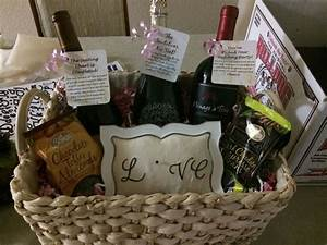 engagement party gift basket for a great couple With gift ideas for couples wedding shower