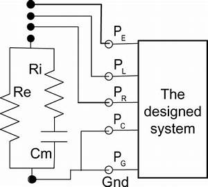 Wiring Diagram Of Impedance Measurement Of A Rc Combina