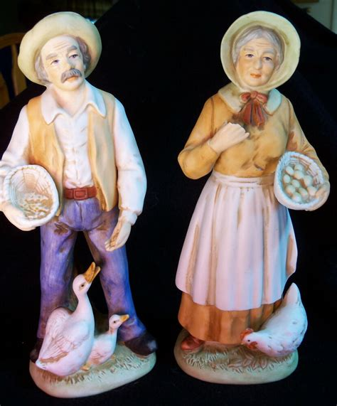 Vintage Home Interiors Collectible Figurines 1426 Old Man