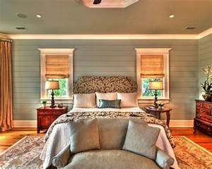 Bedroom ideas for decorating with shiplap walls
