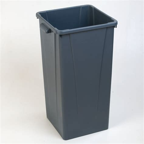centurian square tall waste container trash