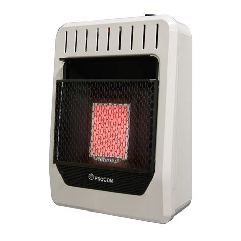 Ventless Propane Gas Heater Manual Control Wall Heater