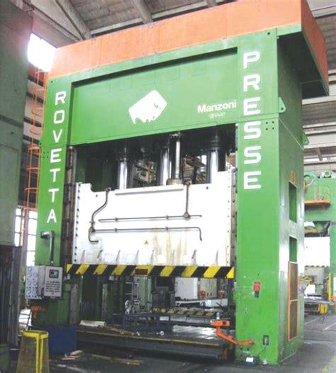 press machine 2500 t press machines pma rovetta 4101