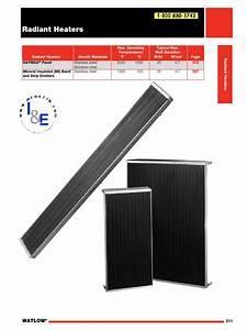Watlow Radiant Heaters