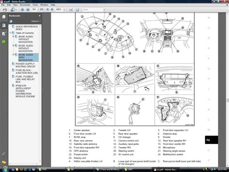 Infiniti Bose Stereo Wiring Diagram Forums