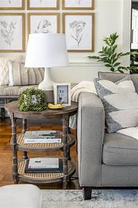 Simplified, Decorating, How, To, Style, End, Tables
