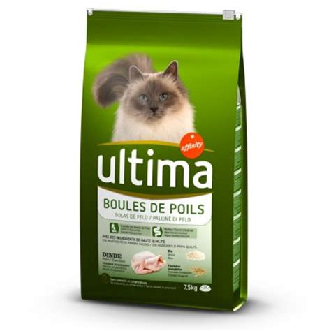 composition croquettes chat ultima