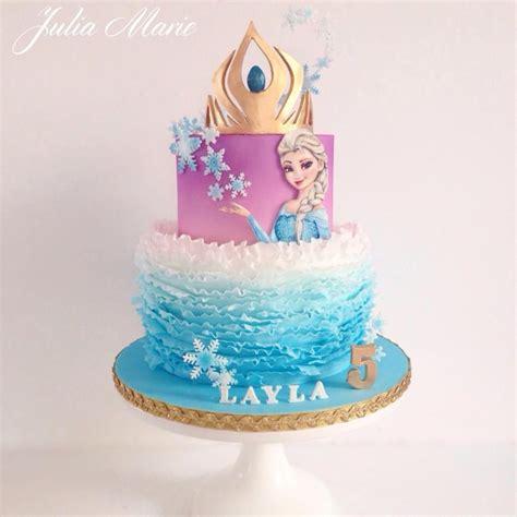 frozen elsa cake  julia marie cakes recepty na