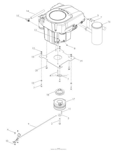 Variety of kohler engine wiring schematic. Dixon SPEEDZTR 44 20HP KOHLER - 968999538 (2008) Parts Diagram for ENGINE KOHLER 20 HP