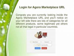 How To Find The Agora Marketplace URL