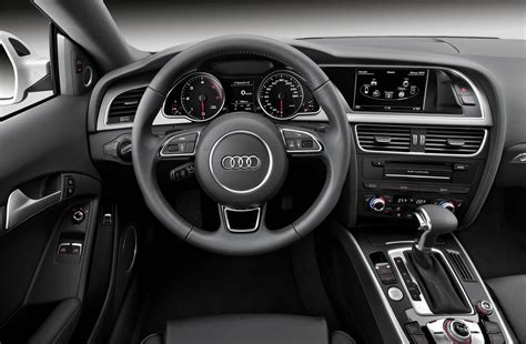 audi dashboard a5 2012 audi a5 coupe black interior dashboard eurocar news