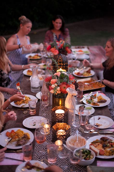 Girls' Night Outdoors Moroccan Party & Rosé Tasting