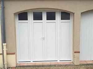 portes de garage thierry micheneau artisan menuisier a With porte de garage pvc blanc