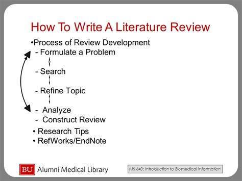 write  literature review  video