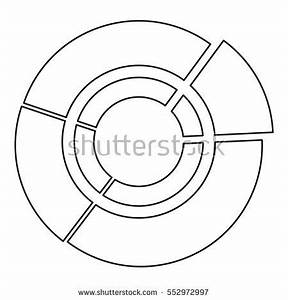 pie chart icon outline illustration pie stock vector With what is pie diagram