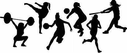 Sports Clipart Silhouette Transparent Crowd Cheering Volleyball