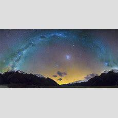 Milky Way Tasman Valley  Mackenzie Region