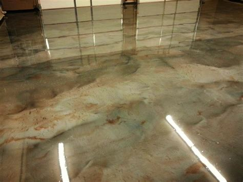 Floor Paint Marble by Metallic Marble Epoxy Flooring Columbus Ohio Redeckoco