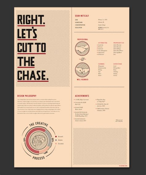 Graphic Design Cv Inspiration by 30 Excellent Resume Designs For Inspiration Designbump