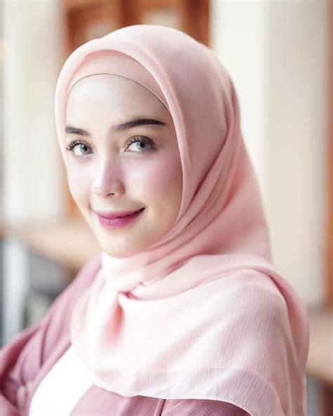 tutorial hijab kebaya pashmina segi empat pesta