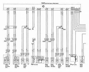 Mercedes-benz 300se  1992 - 1993  - Wiring Diagrams - Audio