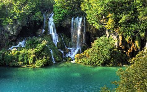 Thailand Wallpaper Waterfall River Jungle Nature Desktop Wallpapers 976