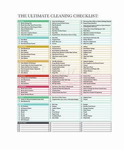 cleaning checklist 23 free word pdf psd documents With maid checklist template