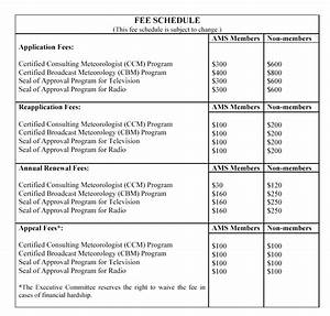 consulting fee agreement template - schedule for metr 485 785 consulting meteorology