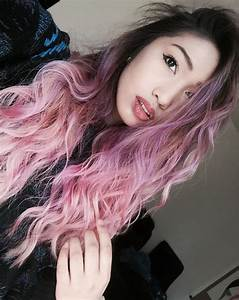 Dark roots, Ombre hair and Lilacs on Pinterest